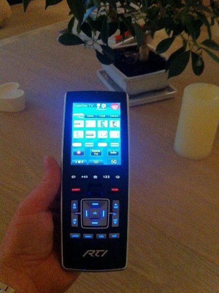 Telecommande RTI T3V+